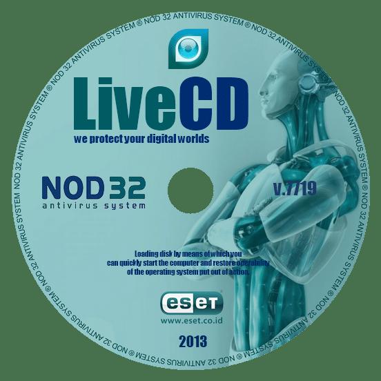 скачать бесплатно LiveCD ESET NOD32