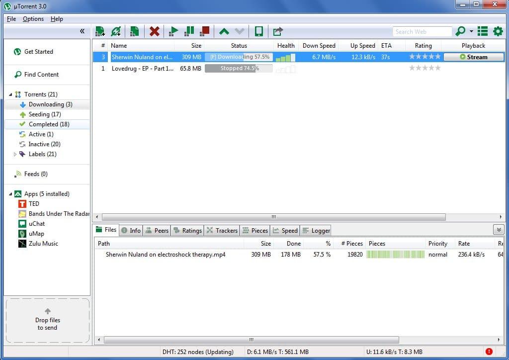 скачать utorrent для windows