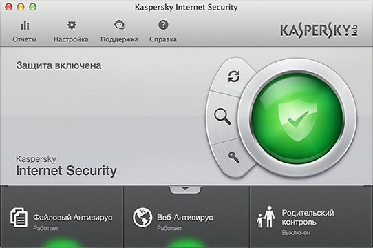 Kaspersky Internet Security скрин