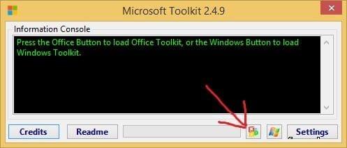 окно программы office 2010